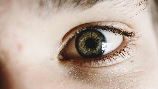 zelené oči