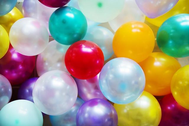 nafukovací balonky