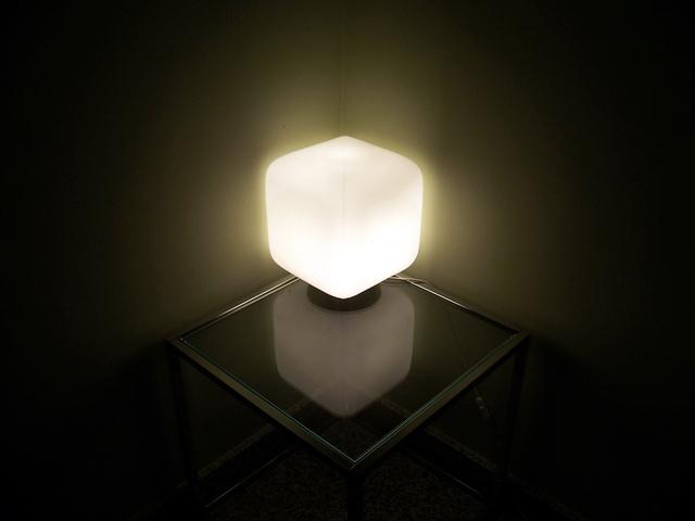 Svetlo, lampa, kocka